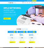 Communications Joomla  Template 58868