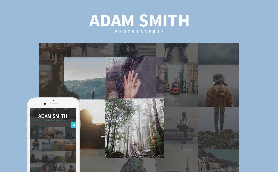 Responsywny szablon Joomla #58869 na temat: portfolio fotograficzne New Screenshots BIG