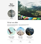 Travel WordPress Template 58871