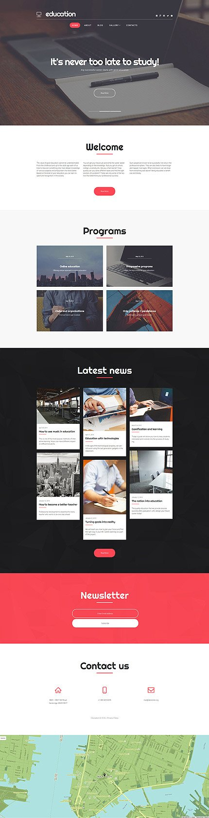 WordPress Theme/Template 58872 Main Page Screenshot