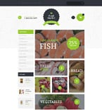 Food & Drink VirtueMart  Template 58876