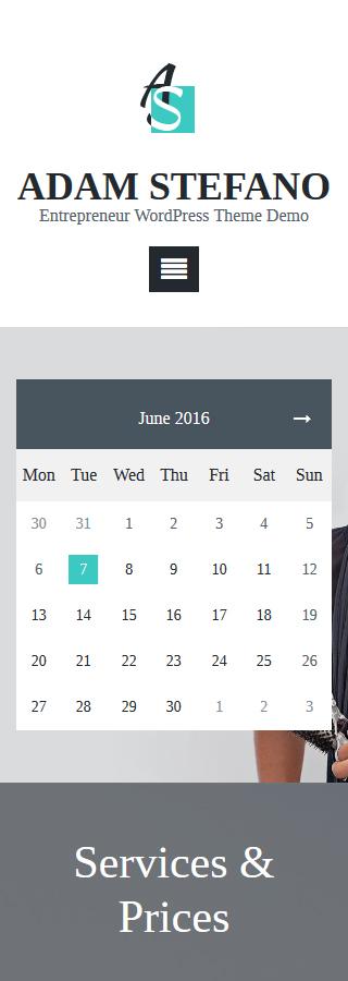 WordPress Theme/Template 58877 Main Page Screenshot