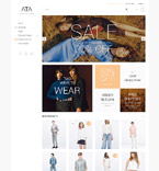 Fashion Magento Template 58878