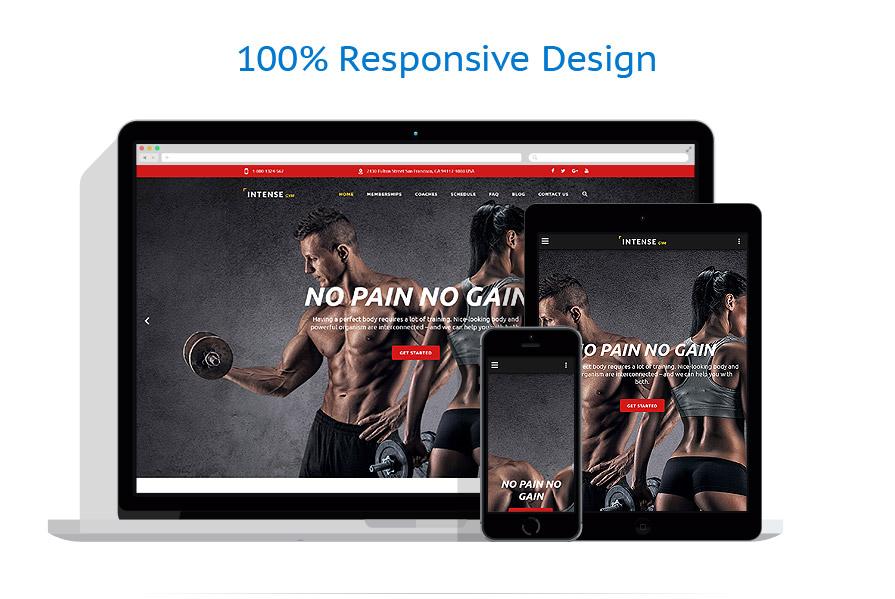 Modèles HTML5 Sport #58882