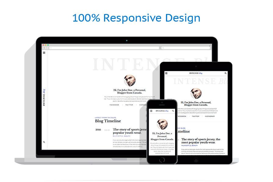 Modèles HTML5 Personal pages #58885