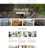 Real Estate Website  Template 58887