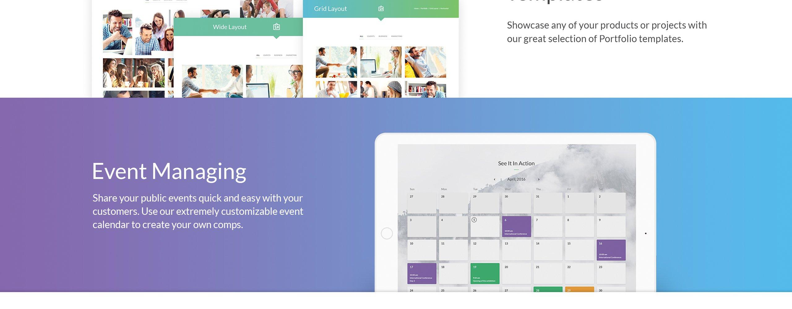 intense multipurpose website template