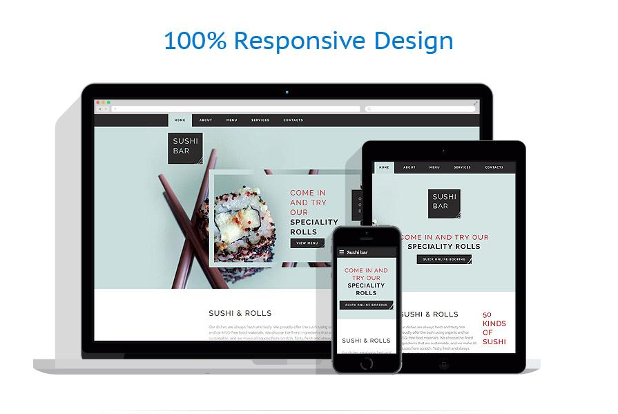 Modèles HTML5 Café et Restaurant #58897
