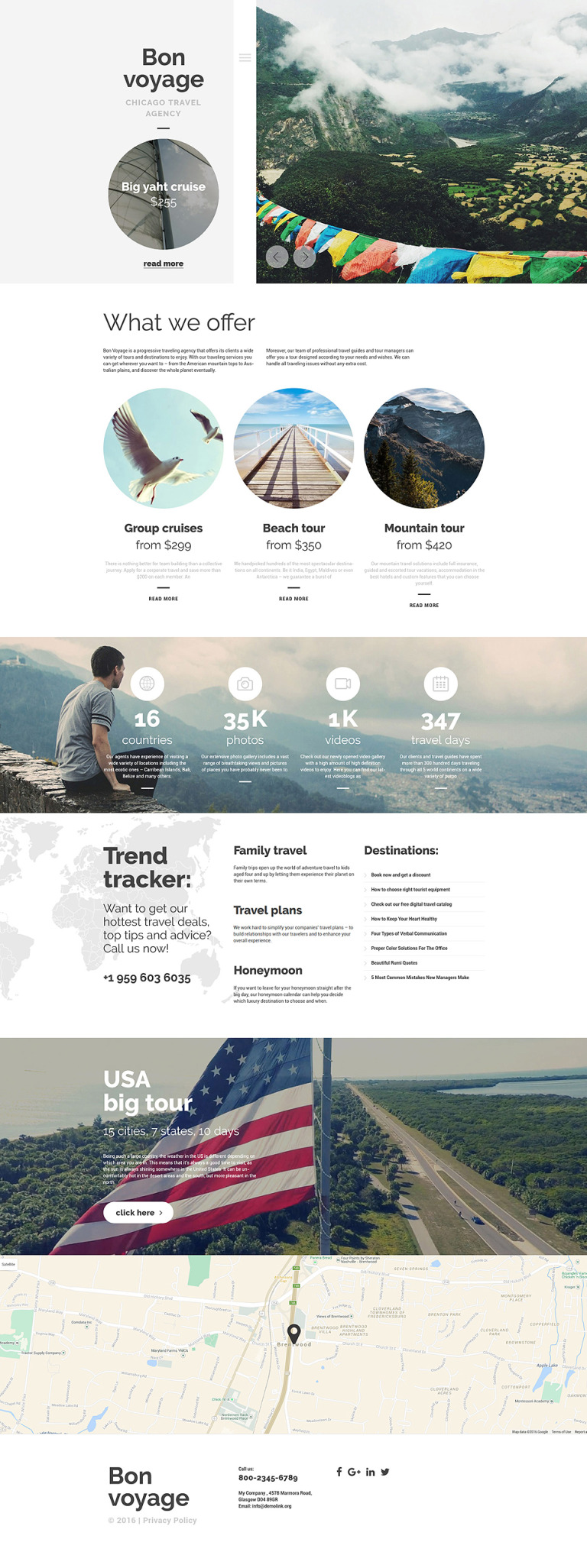 Bon Voyage WordPress Theme New Screenshots BIG