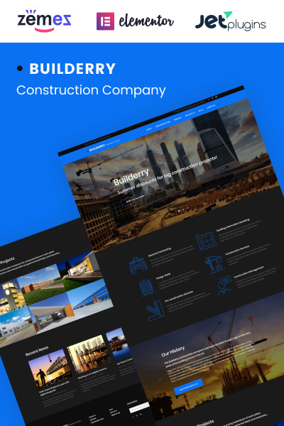 Builderry - Construction Company