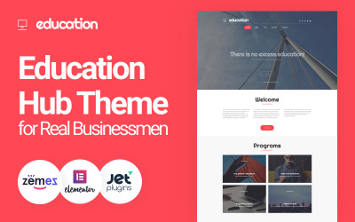 Education - Education Hub Theme for Real Businessmen