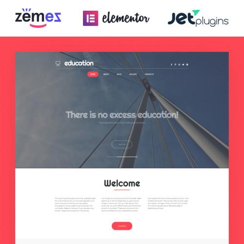 Education Hub - WordPress Template based on Bootstrap