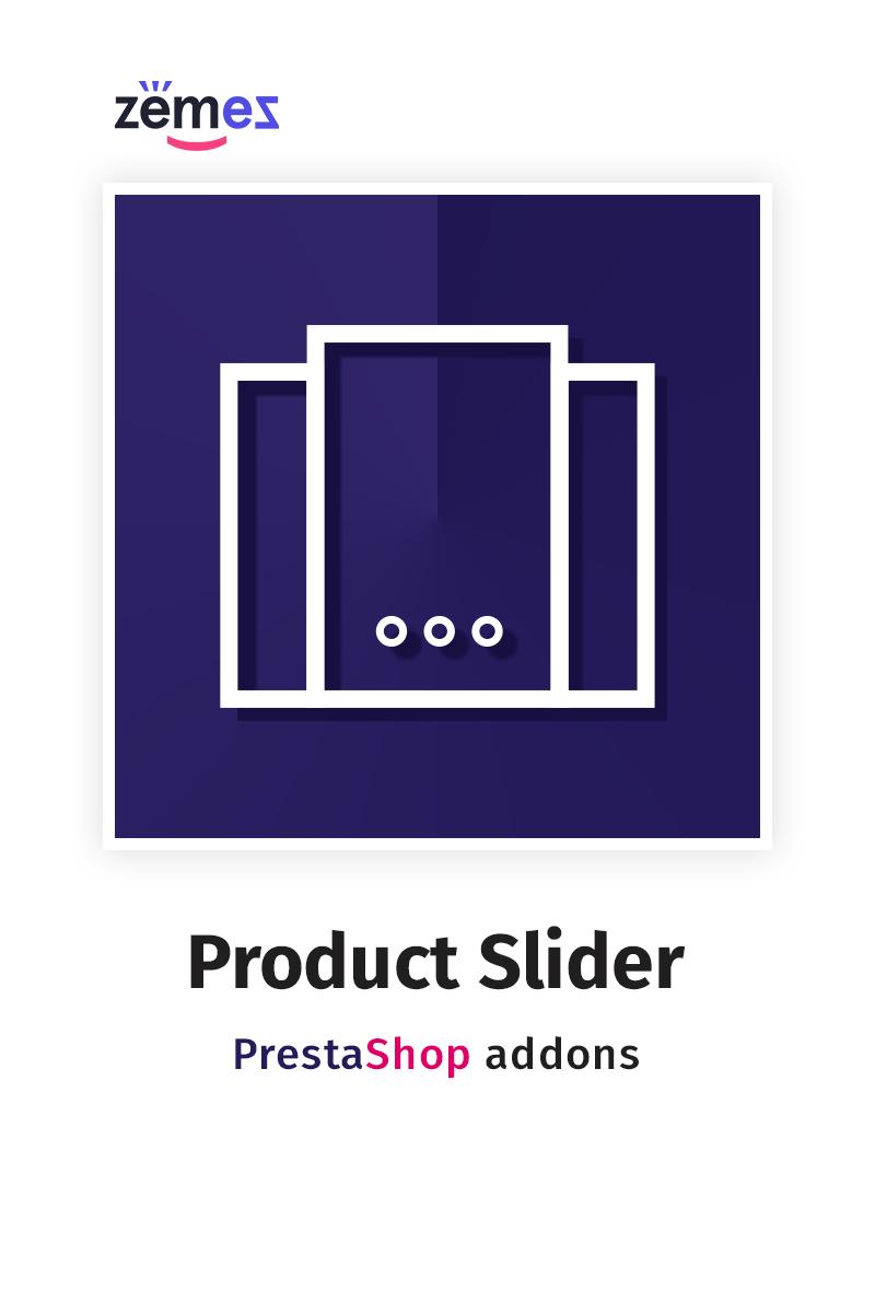 """Extensión Para PrestaShop """"Products Slider"""" #58863"""