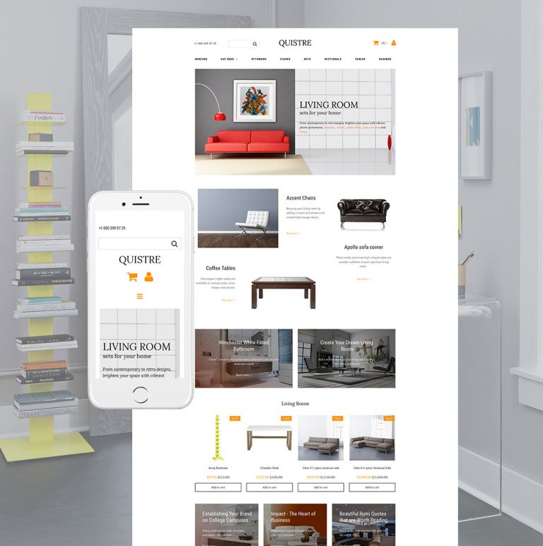 Furniture Responsive MotoCMS Ecommerce Template New Screenshots BIG