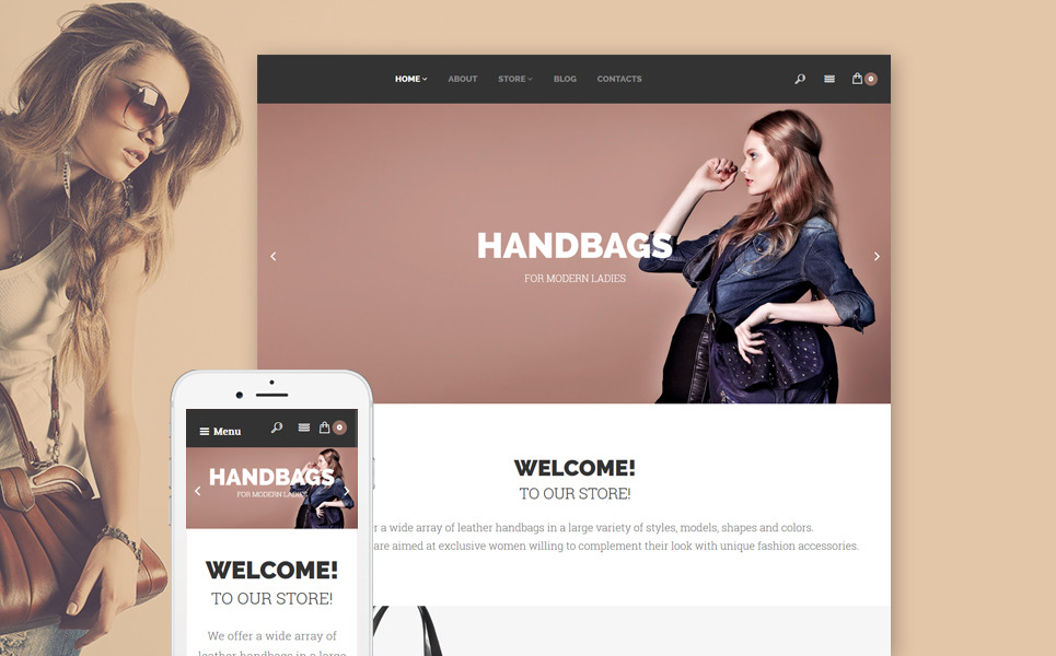 Handbags WooCommerce Theme New Screenshots BIG