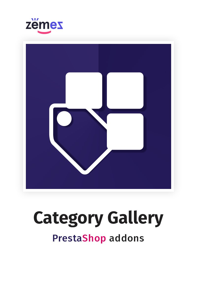 """Homepage Category Gallery"" PrestaShop插件 #58829"