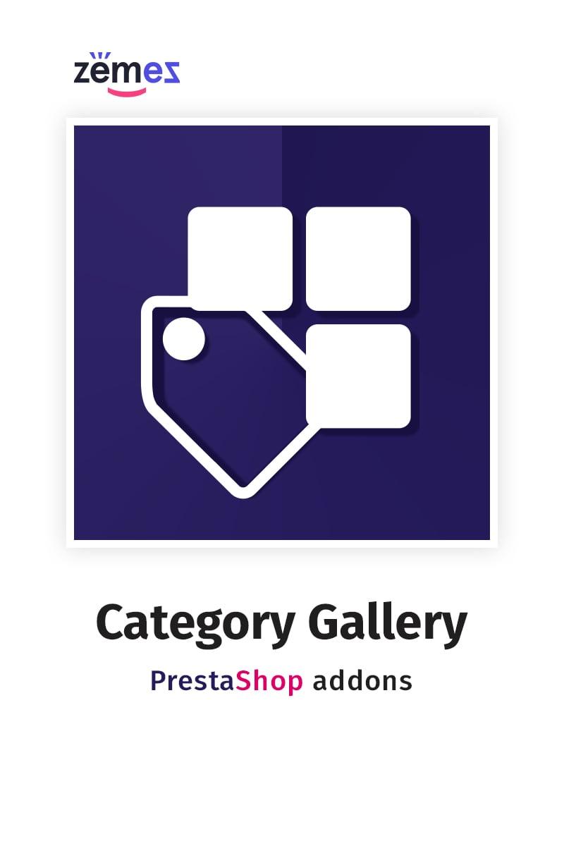"""Homepage Category Gallery"" PrestaShop Uitbreiding №58829"