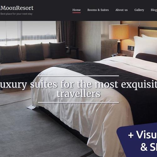 Resort - MotoCMS 3 Template based on Bootstrap