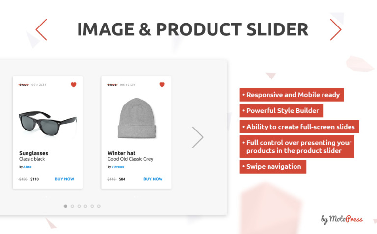 Image and Product Slider PrestaShop Module New Screenshots BIG