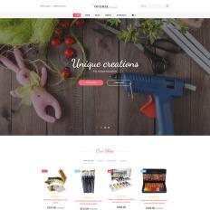 Intense Handmade Minecraft Website Template Php