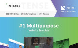 Intense - многоцелевой шаблон сайта