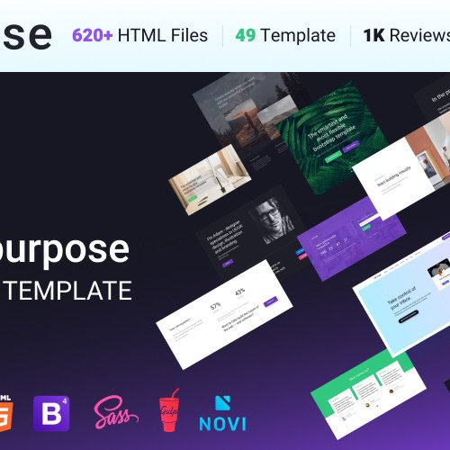 Intense - Multipurpose Website Template based on Bootstrap
