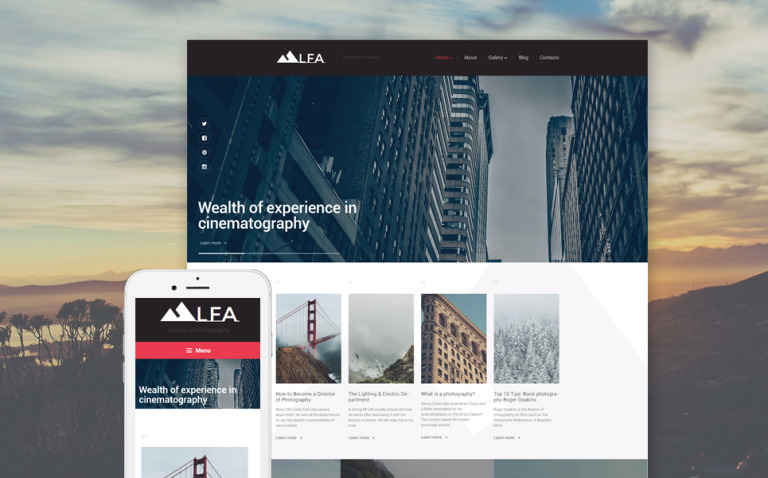 LFA WordPress Theme New Screenshots BIG