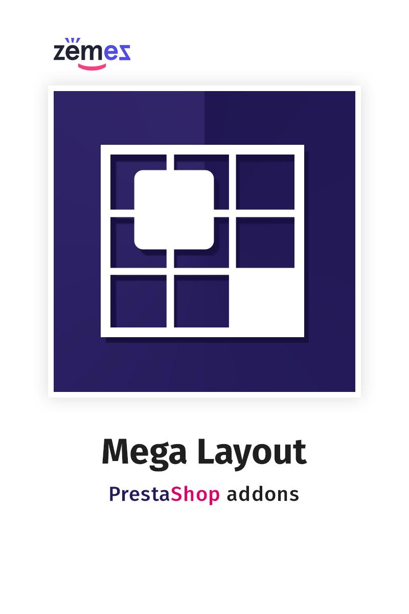 Mega Layout PrestaShop Modul #58861