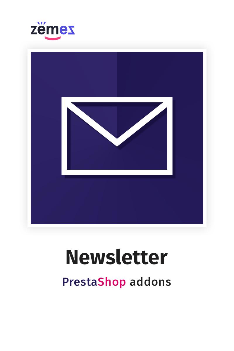 "Modello Modulo PrestaShop #58862 ""Newsletter"""