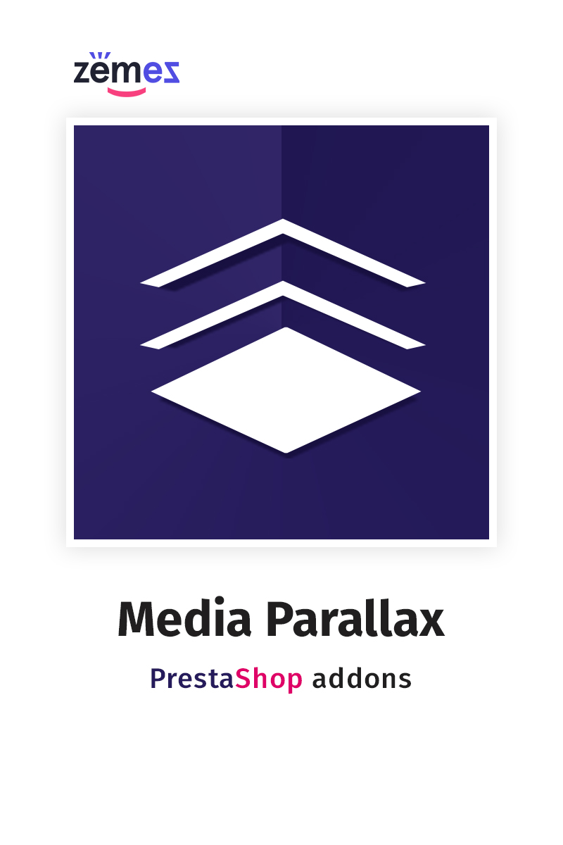 "Modul PrestaShop ""Media Parallax"" #58828"