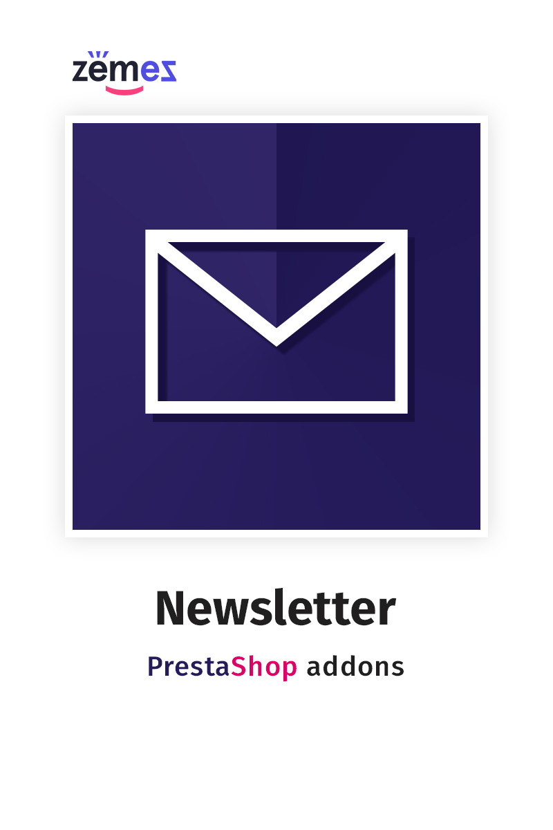 "Modul PrestaShop ""Newsletter"" #58862"