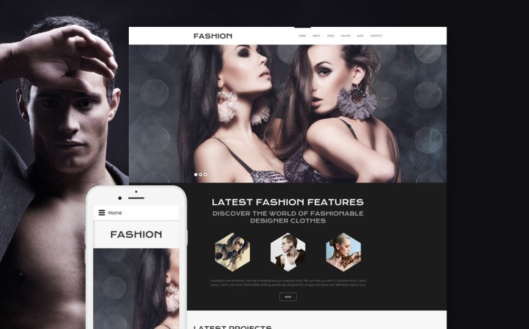 Online Fashion Joomla Template New Screenshots BIG
