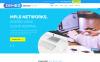 Plantilla Joomla para Sitio de Proveedores de servicios de Internet New Screenshots BIG