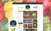 Responsive Yiyecek Mağazası  Virtuemart Şablonu New Screenshots BIG