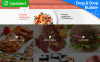 Responsywny szablon Moto CMS 3 #58839 na temat: żywnościowe New Screenshots BIG