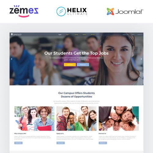 Student Activities - Joomla! Template based on Bootstrap