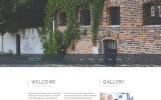 """Sweet House"" Responsive Website template"