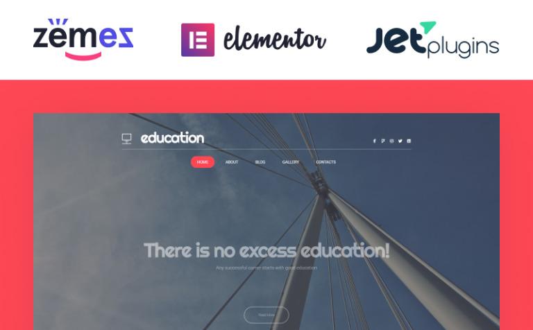 Tema de WordPress #58872 para Sitio de Educación