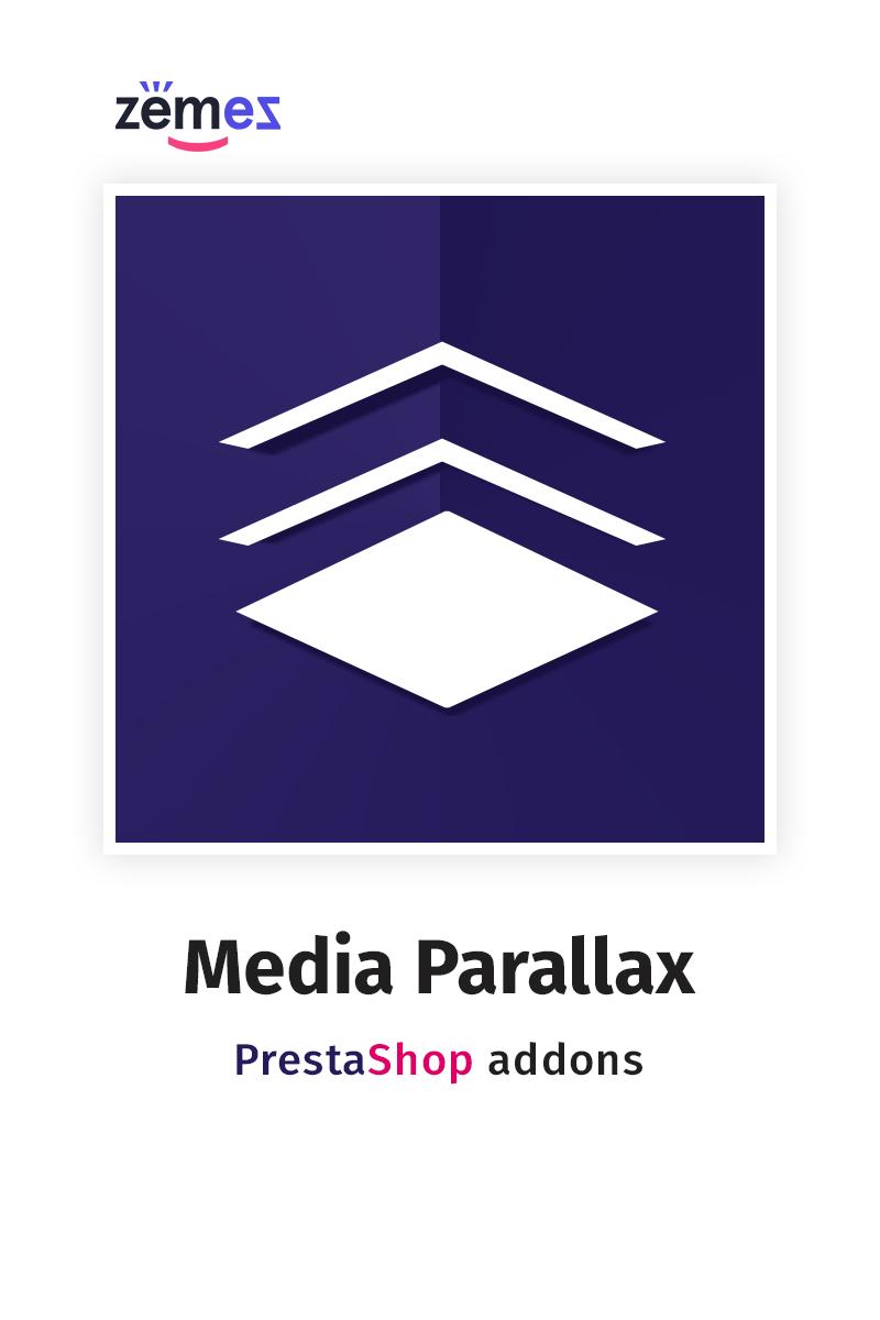 "Template Modulo PrestaShop #58828 ""Media Parallax"""