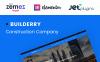 """Template WordPress Responsive #58891 """"Builderry - Società di costruzioni"""" New Screenshots BIG"""