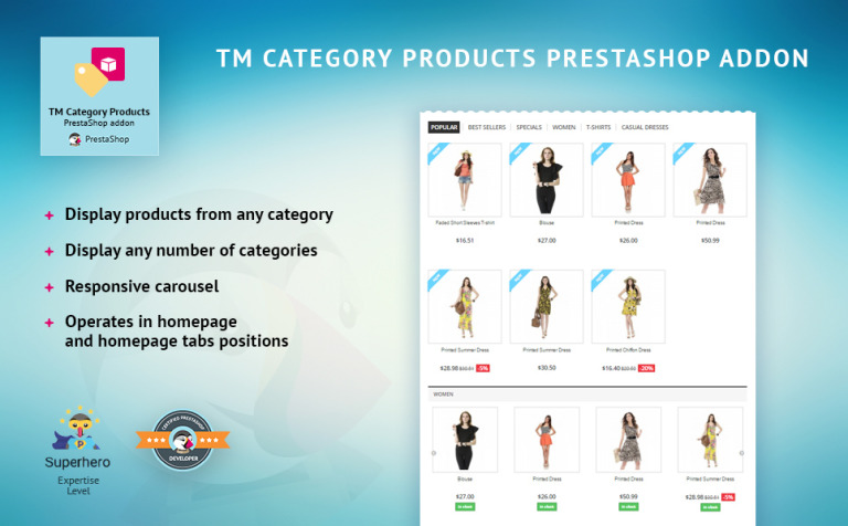 TM Category Products PrestaShop Module New Screenshots BIG