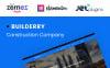 "WordPress шаблон ""Builderry "" New Screenshots BIG"
