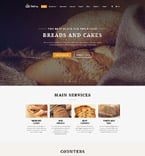 Food & Drink Website  Template 58900
