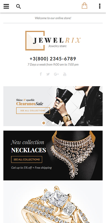 Magento Theme/Template 58903 Main Page Screenshot