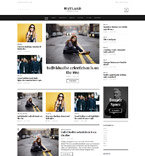 Fashion WordPress Template 58904