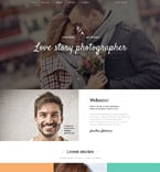 Art & Photography Website  Template 58905