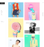 Art & Photography WordPress Template 58912