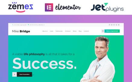 Mike Bridge - Motivational Coach WordPress Theme