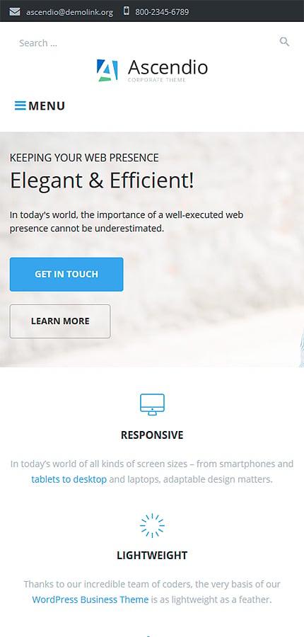 Ascendio - Corporate & Business WordPress Theme 4