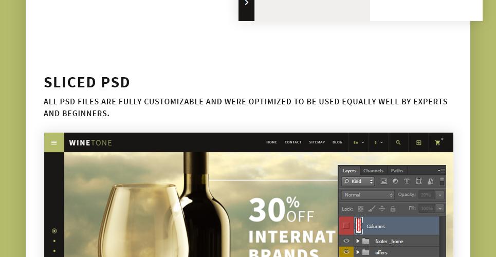 Wine Tone PrestaShop Theme